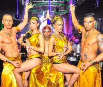 grupo de performance egipcios