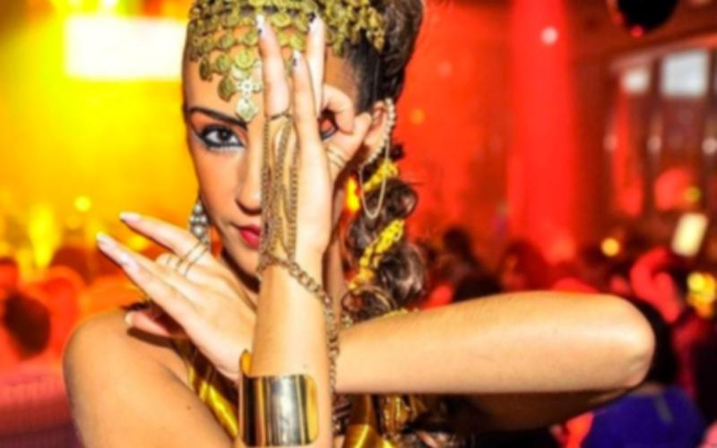 performance egipcia femenina