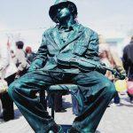 Stabilis, Esculturas vivas