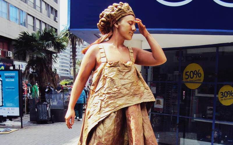 Esculturas vivas, esculturas humanas