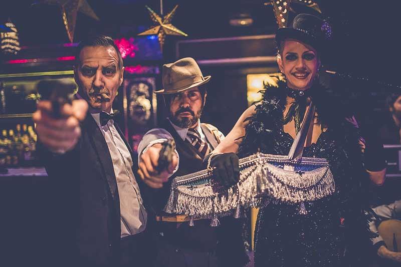 auténticos mafiosos de casino