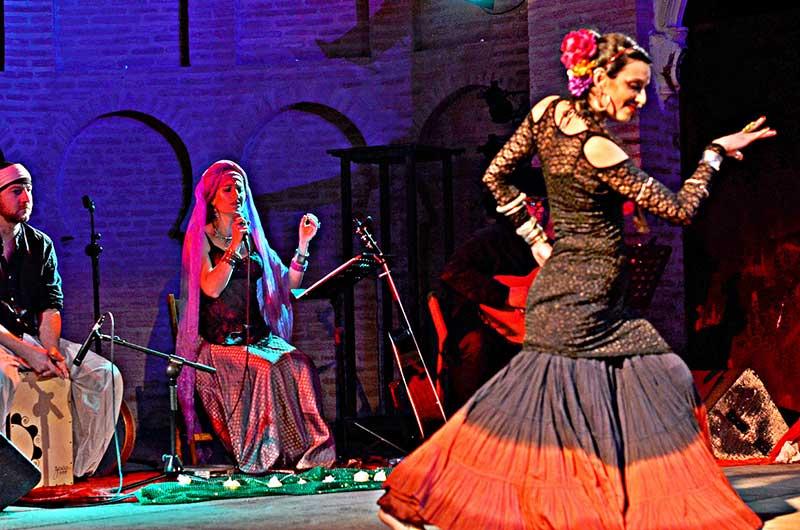 Bailaora de flamenco y cantante