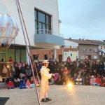 Espectáculo Globo en el Carnaval de Meco