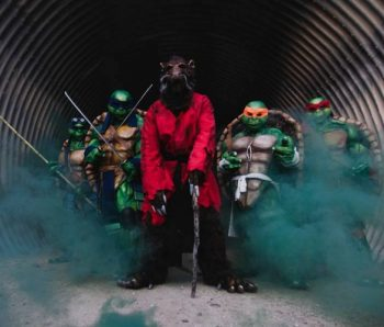 tortugas ninjas y maestro astilla