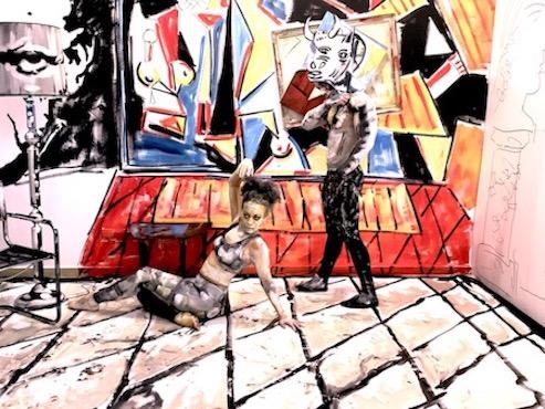 arte y danza fusionados