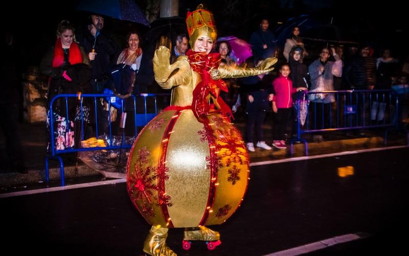 performance Bola de navidad