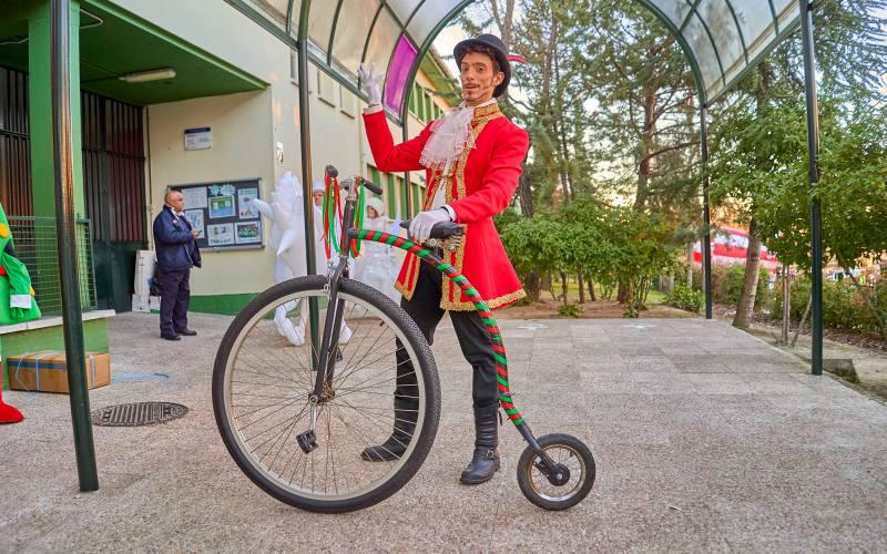performance en velocipedo