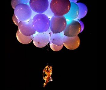 performance en globos aereos