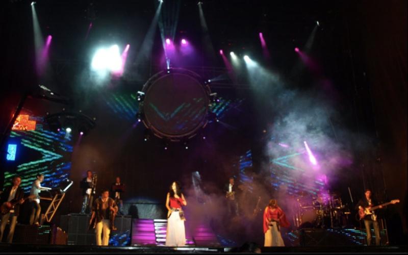 Actuación en directo