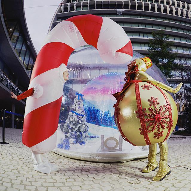 Sweet Christmas en el evento de Navidad de BBVA
