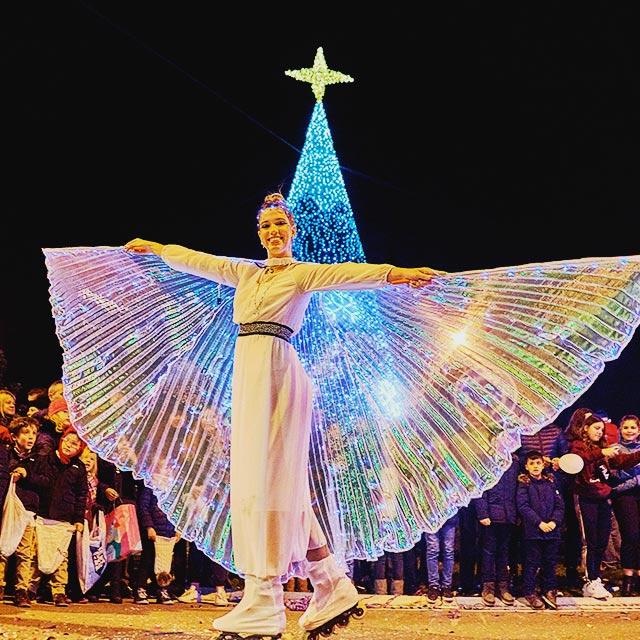 Pasacalles del Danza Estelar en la Cabalgata de Reyes de Las Rozas