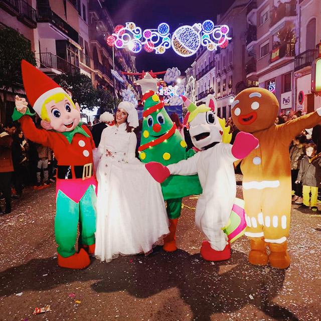 Fantasía en la Cabalgata de Reyes de Antequera