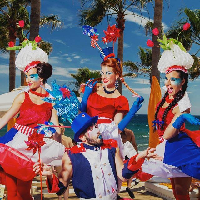 Dutch Party en Nikki Beach Marbella