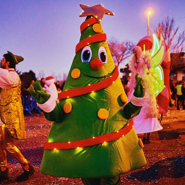 Sweet Christmas en la Cabalgata de Reyes de Las Rozas