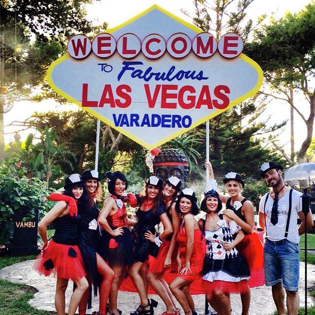 Welcome to Las Vegas en el Hotel Varadero