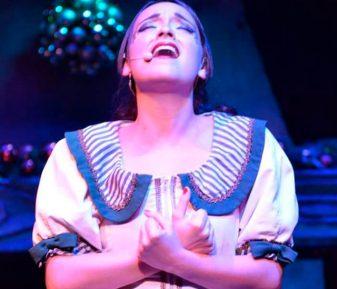 Cantante de Musicales Marina Damer