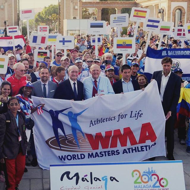 Show deportivo para RFEA en Málaga