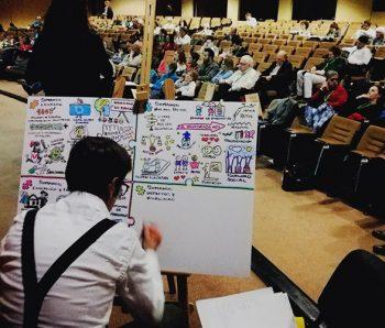 Rafa realiza Visual Thinking presencial y virtual