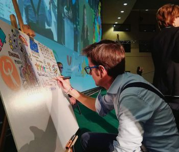 Rafa realiza Visual Thinking presencial y virtual