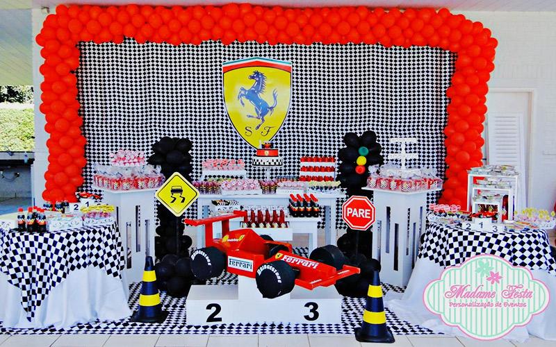 Temática de comunión de Fórmula 1