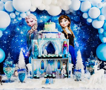 Temática de comunión de Dibujos, Frozen