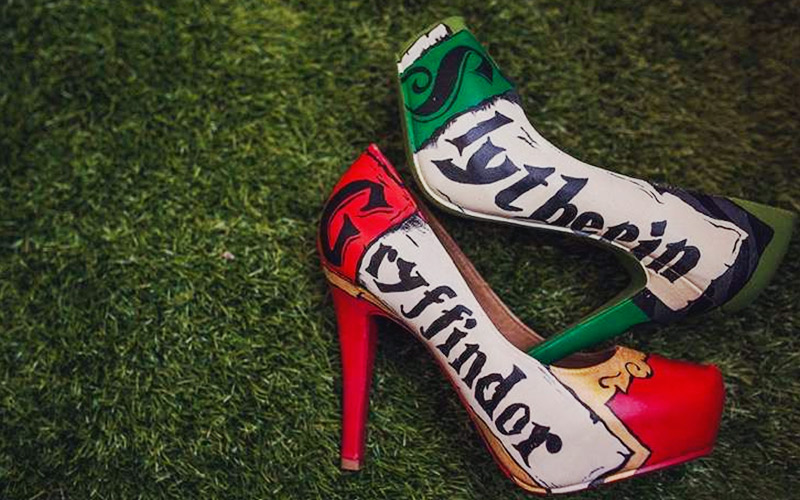 Zapatos de boda Harry Potter
