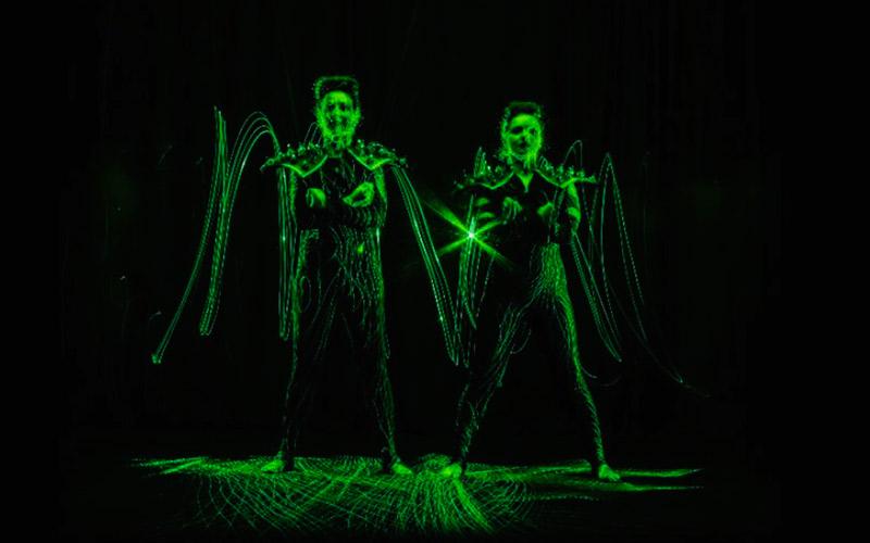 Beats & Visual Experience, espectáculo de música y danza con láseres