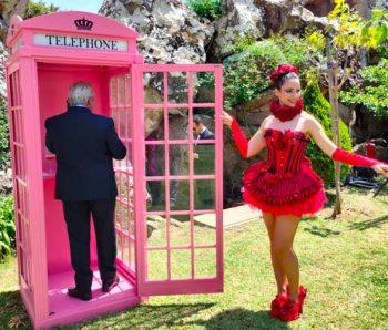 CABINA TELEFÓNICA + CONTESTADOR PARA TODO TIPO DE EVENTOS