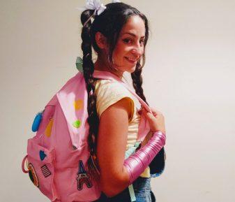 Lila y su mochila