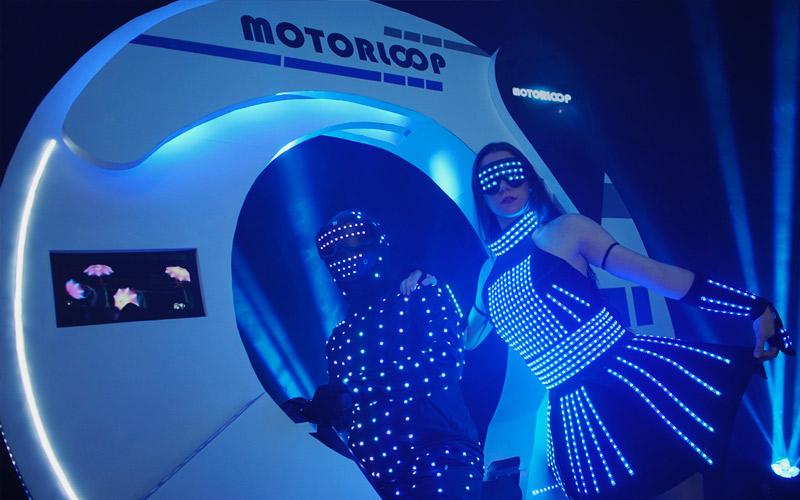 Motorloop para eventos coorporativos